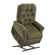 Med Lift Wide Two-Way Reclining Lift Chair, Bromley, Forest