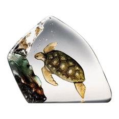 Sea Turtle Crystal Sculpture
