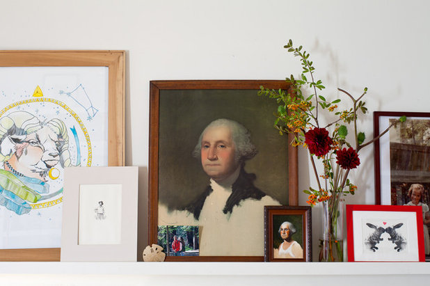 Eclectic  George Washington portraits