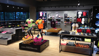 Nike Flagship Store Seattle, Post Construction Cleaning