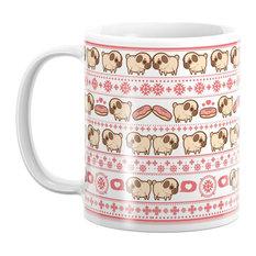 Society6 Puglie Christmas Sweater Mug