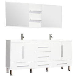 Contemporary Bathroom Vanities And Sink Consoles by Bathroom Bazzar