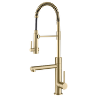 Kraus Artec Commercial Style Pre-Rinse Kitchen Faucet, Pull-Down, Pot Filler, Br