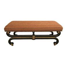 JWLC Imports - Regency Upholstered Bench - Upholstered Benches