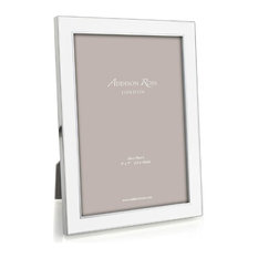 Addison Ross Enamel Picture Frame, White, 4x6
