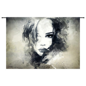 The Look Organic Cotton Tapestry, 145x190 cm