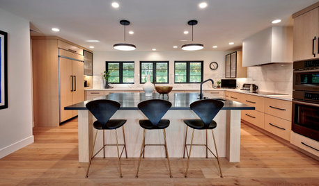 Kitchen of the Week: Zoned Layout for a Family That Loves to Cook