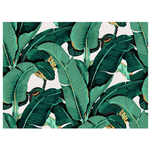 Banana Leaf Wall Art, 100x80 cm