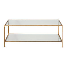 Taylor Hammered Coffee Table - Gold