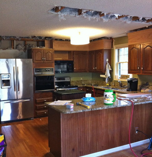 Extreme Kitchen And Living Room Makeover