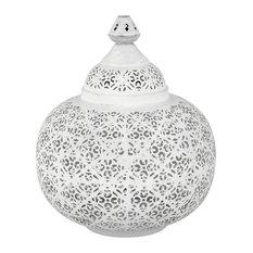 Moroccan Lantern Table Lamp, Small