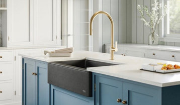 Up to 50% Off Kitchen Sinks and Faucets