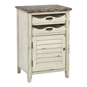 Charlotte Chair Side Table, Country Cottage, Fully Assembled