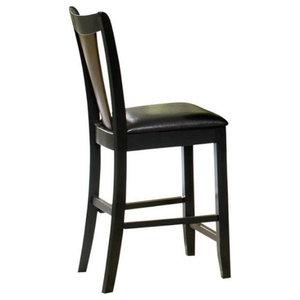 Brilliant Linon Triena 24 High Soho Counter Stool Rich Espresso Frankydiablos Diy Chair Ideas Frankydiabloscom