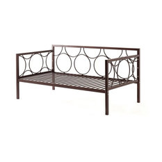 Metal Day Bed, Bronze