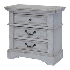 American Woodcrafters - Stonebrook Nightstand - Nightstands and Bedside Tables