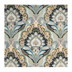 Safavieh Wyndham Collection WYD374 Rug, Blue/Multi, 7' Square