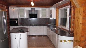 угловая кухня,