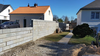 Mur de clôture
