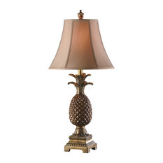 Palm Coast Pineapple Table Lamp
