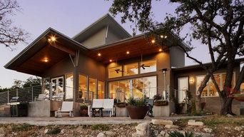Modern Lake Front Custom Home