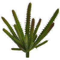 "9"" Cactus Succulent Artificial Plant, Green, Set of 6"