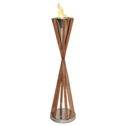 Contemporary Outdoor Torches by Shop Chimney