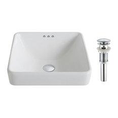 best semi recessed bathroom sinks  houzz, Bathroom decor
