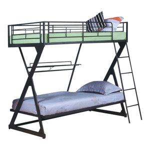 Wentworth Metal Multi Functional Bunk Bed Industrial