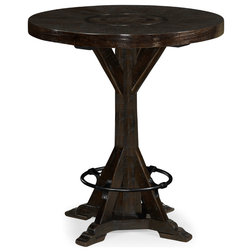 Industrial Indoor Pub And Bistro Tables by Jonathan Charles Fine Furniture