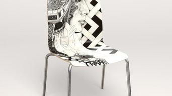 Designdrucksvolle Stühle