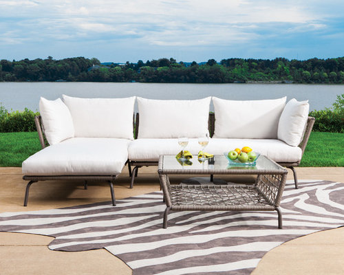 Awesome Lloyd Flanders SoHo Collection Sectional   Outdoor Sofas   Lloyd Flanders  Discontinued Product