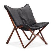 Draper Lounge Chair Black