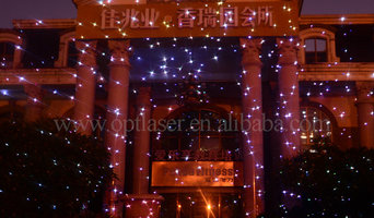 Christmas Holiday Projector 5w/ Remote Control laser lights for outdoors
