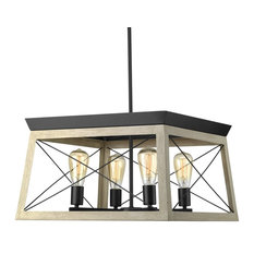 Luxury Industrial Chic Chandelier, Berkeley Series, Charcoal