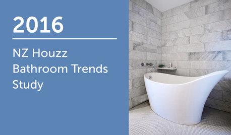 2016 NZ Houzz Bathroom Trends Study