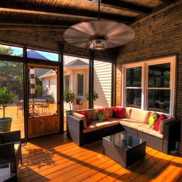 Mauldin Screen Porch and Cedar Deck