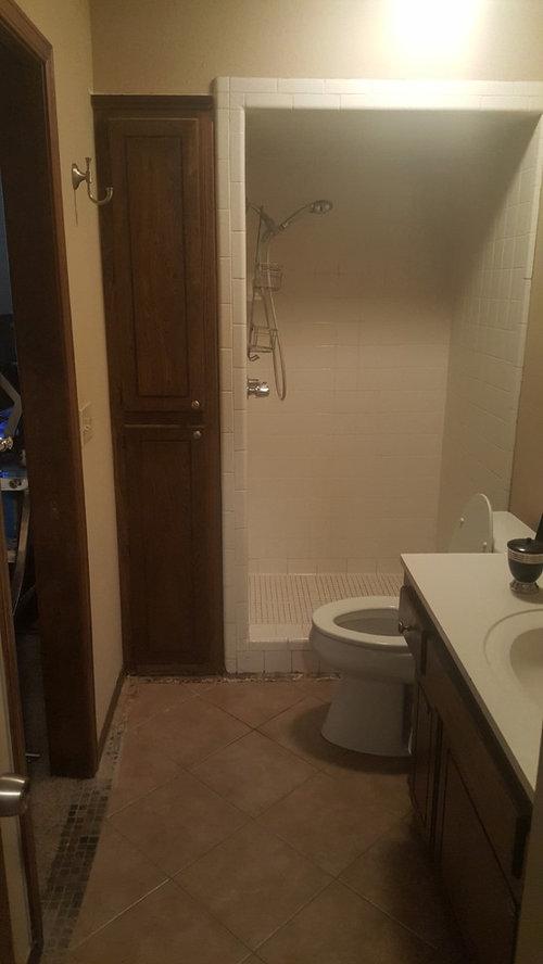 Shower Drain Location