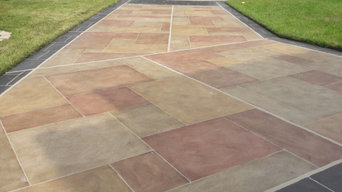 Decorative driveway replacement