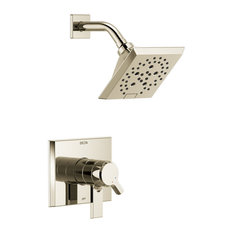 Delta Pivotal Monitor 17 Series H2Okinetic Shower Trim, Polished Nickel