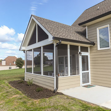 Avalon Screened Porch Addition and Shower Repair