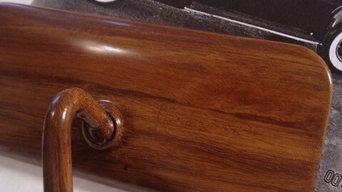 Antique Automobile Restoration-faux wood graining
