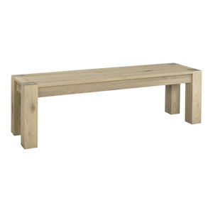 Panama Light Oak Large Bench