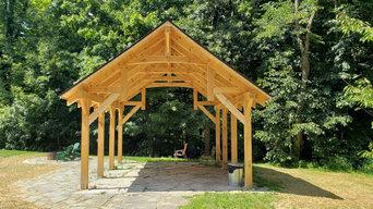 Kacic, Rob & Debbie - Timber Frame Outdoor Pavilion