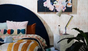 Velvet Slipcover Bedheads by Create Estate