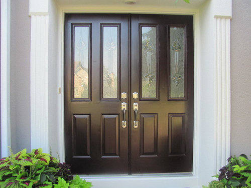 Total Side Note We Would Love A Screen Door But Have Not Found Any Good Solutions For Double That Look Nice Ideas