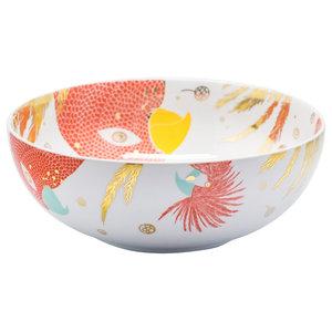 Enchanting Birds Serving Bowl