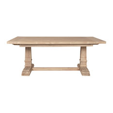 1st Avenue   Davis Extension Dining Table, Stone Wash   Dining Tables