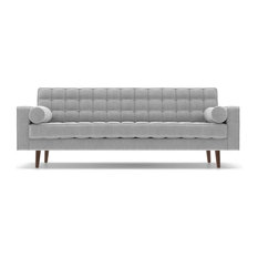 Aeon Furniture   Lacey Upholstered Sofa, Gray   Sofas