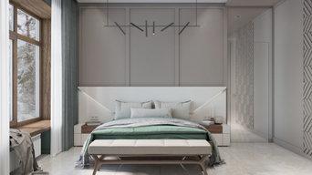 Спальная в частом доме